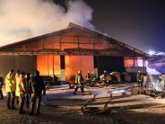Kreis Dillingen: Millionenschaden nach Feuer auf Aussiedlerhof- Zeugen gesucht