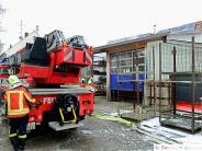 Hafenhofen: Dachstuhl fängt Feuer