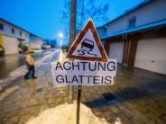 Wetter: Blitzeis in Ostbayern: In mehreren Landkreisen fällt die Schule aus