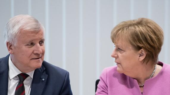 Ticker: Seehofer: CSU bereit für Gespräche über Regierungsbildung