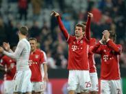 """Pressestimmen: FC Bayern gegen Arsenal: """"Sogar Müller lacht"""""""