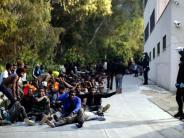 Ceuta: Massenansturm auf Grenzzaun zur spanischen Exklave Ceuta