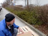 Augsburg: Paletten auf Augsburger Gehweg: Jetzt doch 133,50 Euro Bußgeld