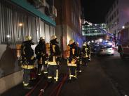 Augsburg: Feuer im Josefinum: Eine Frau verletzt
