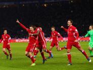 Bundesliga: FC Bayern: Last-Minute-Unentschieden in Berlin
