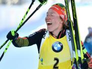 Biathlon: Dahlmeier schreibt mit fünftem WM-Gold Biathlon-Geschichte