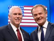 Brüssel: US-Vizepräsident sichert EU im Namen von Trump Zusammenarbeit zu