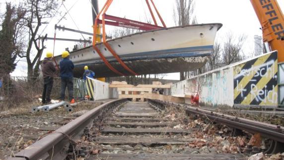 Ammersee: MS Utting: Wie ein Schiff vom Ammersee nach München umzieht