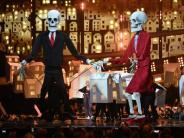 Musikpreis: Preise und Puppen bei den Brit Awards 2017: Die Bilder des Abends