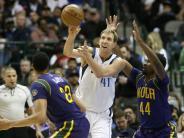 Basketball: Dallas und Nowitzki nähern sich den Playoff-Plätzen