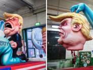 Düsseldorf: Provokante Rosenmontagswagen: Wagenbauer Tilly erhält Hass-Mails