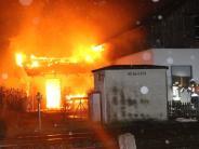 Lindau: Zweiter Mord-Verdächtiger nach Brand in Lindau festgenommen
