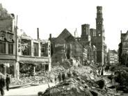 Zweiter Weltkrieg: Wie ein historisches Haus über Nacht zur Ruine wurde