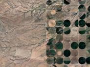 Trumps Mauer-Pläne: USA und Mexiko: Diese Satellitenbilder zeigen das Leben an der Grenze