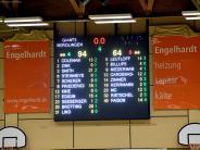Playdown-Basketball: Giants fegen Leipzig weg