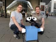 Augsburg: Roboter am Kö: Wo steckt eigentlich swa*lly?