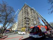 Augsburg: Feuer in Pfersee: Rauchwolke beunruhigt den Oberbürgermeister