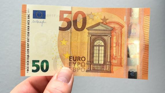 Der neue 50-Euro-Schein kommt bald