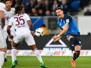 "Bundesliga: Bayern knickt in Hoffenheim ein: Kramaric lässt ""Nagelsmänner"" jubeln"