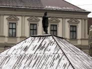 Wetter: Schnee im April: So ist die Lage in Augsburg