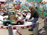 Augsburg: Schnee beim Osterplärrer: Ein Gefühl wie auf dem Christkindlesmarkt