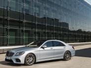 Neuvorstellung: Neue Mercedes S-Klasse: Der selbstfahrende Wellness-Tempel