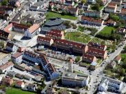 Kreis Augsburg: Karte: Welche Gemeinden wachsen und welche schrumpfen