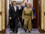 Irak: Außenminister Gabriel besucht die Kurden-Region im Nordirak