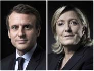 Präsidentschaftswahl: Frankreich hat die Wahl zwischen Macron und Le Pen
