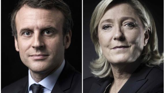 Live-Blog: Frankreich-Wahl 2017: Macron und Le Pen gehen in Stichwahl