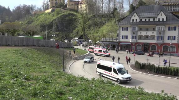 Kutschenunfall bei Schloss Neuschwanstein