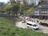 Allgäu: Kutsche verunglückt vor Schloss Neuschwanstein