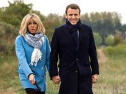 Emmanuel Macrons Frau: Brigitte Macron: Wer ist die mögliche zukünftige Première Dame?