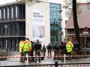 Augsburg: Falscher Amok-Alarm an Hochschule löst Großeinsatz aus