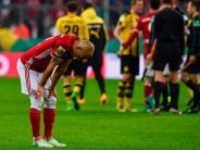 """FC Bayern News-Blog: Pokal-Aus für FC Bayern - Alaba: """"BVB hat das gut gemacht"""""""