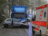Verkehr: Unfälle im Allgäu fordern mehrere Schwerverletzte
