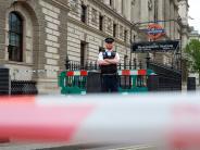 London: Polizei nimmt bewaffneten Mann wegen Terrorverdachts in London fest