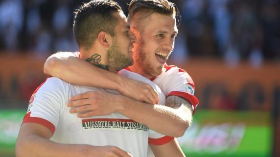Bundesliga: 4:0! Der FC Augsburg überrollt den HSV