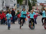 Augsburg: Bilder vom Maibaumfest in Göggingen