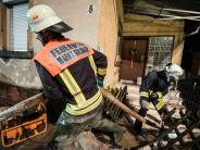 Kreis Aschaffenburg: Unwetter überflutet Straßen und schneidet Orte von Außenwelt ab