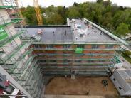 Richtfest im Hochfeld: Servatius-Stift: 136 Einzelzimmer entstehen in Pflegeeinrichtung