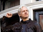 """Wikileaks: Assange feiert Ende der Ermittlungen als """"wichtigen Sieg"""""""