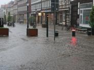 Leichte Sprache: Unwetter und Hochwasser in Teilen von Deutschland