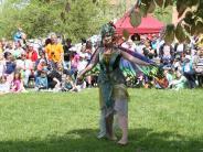 Region: Elfenfestival, Hofflohmarkt, Sport: Die Bilder vom Wochenende