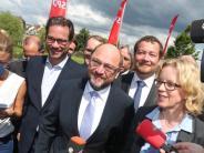 Landesparteitag in Schweinfurt: Schulz und Kohnen: Bayern-SPD macht sich Mut für die Zukunft