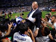 Fußball: Real Madrid nach fünf Jahren wieder spanischer Meister