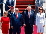 News-Blog: Israel-Besuch: Trump sieht Chance für Frieden in Nahost