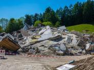 Marktoberdorf: Baufirma reißt Krankenhaus nach misslungenen Sprengungen ein