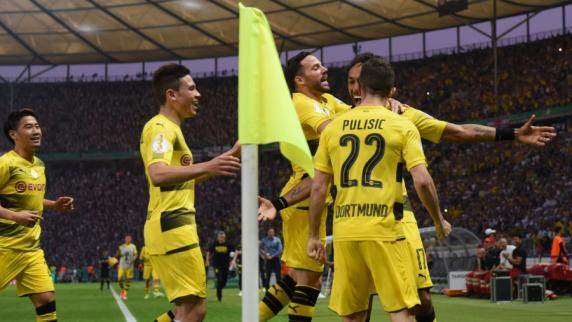 Borussia Dortmund gewinnt DFB-Pokal