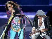 Konzert-Kritik: Aerosmith in München: Die Dämmerung der Rockgötter